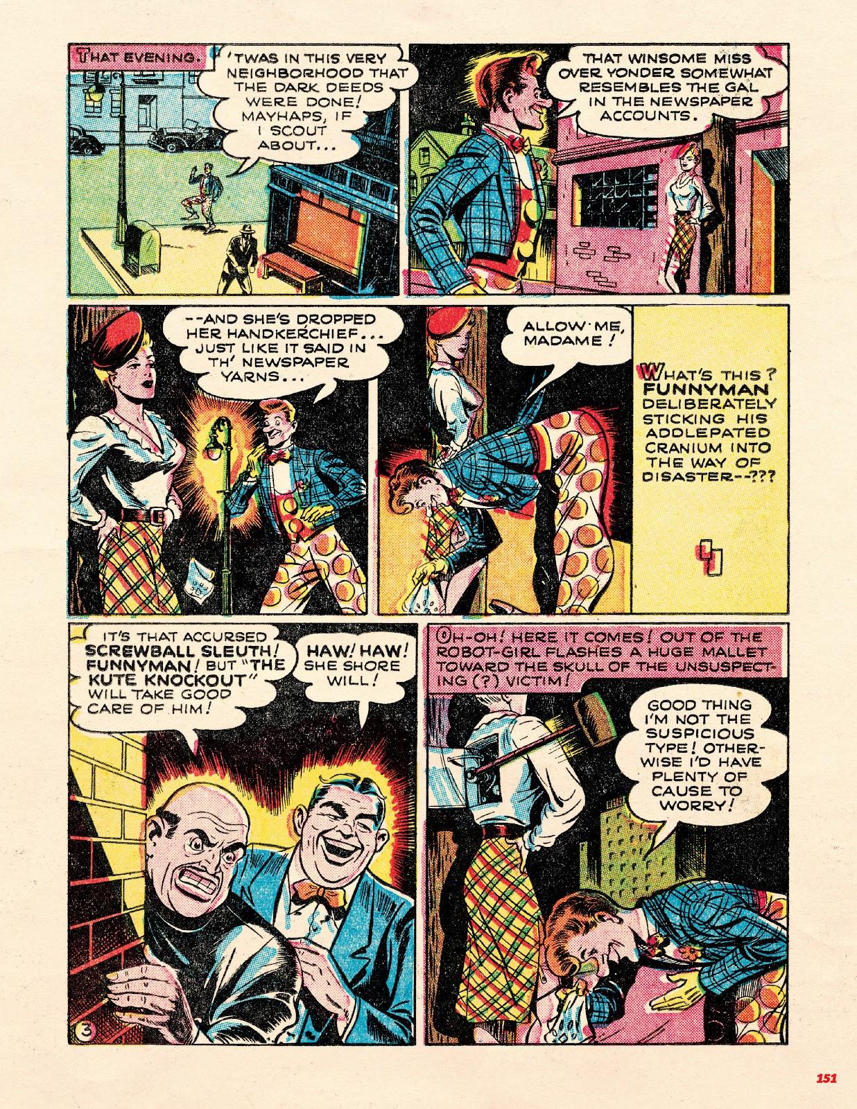 Read online Super Weird Heroes comic -  Issue # TPB 1 (Part 2) - 51