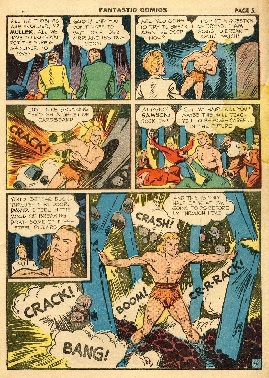 Read online Fantastic Comics comic -  Issue #10 - 6