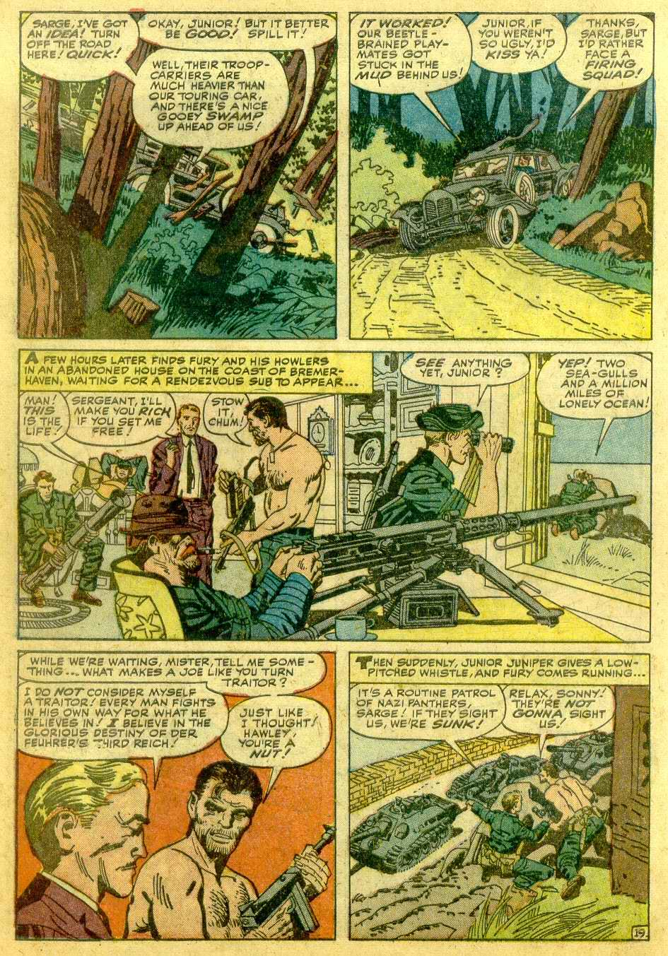 Read online Sgt. Fury comic -  Issue # _Annual 1 - 42