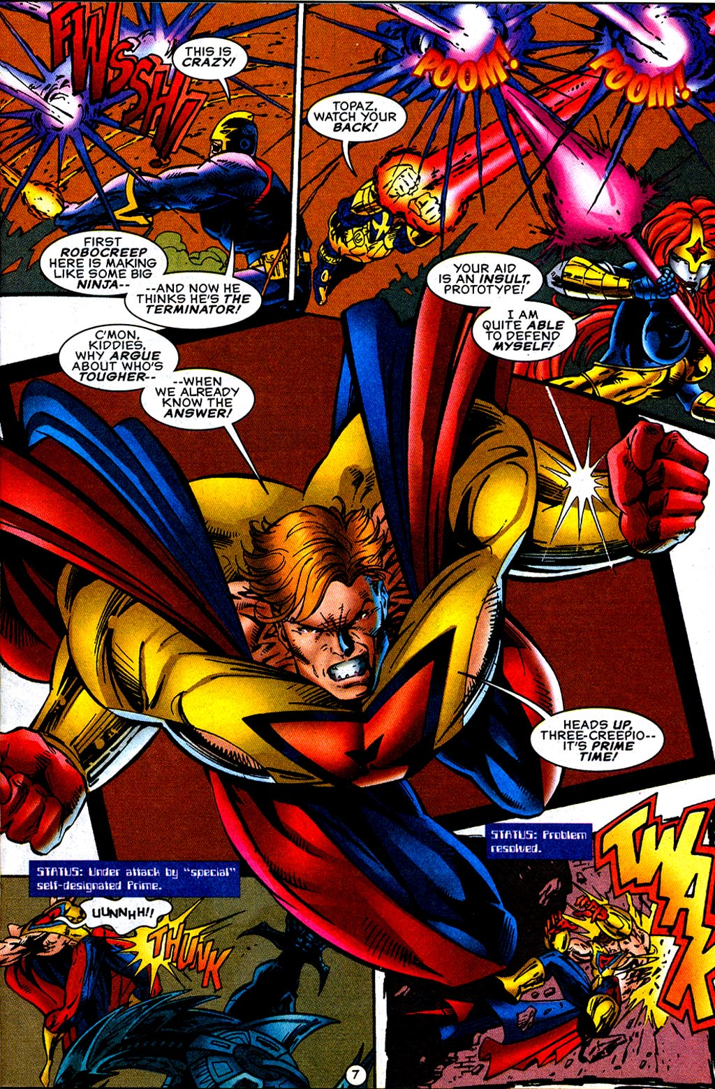 Read online UltraForce (1995) comic -  Issue #12 - 9