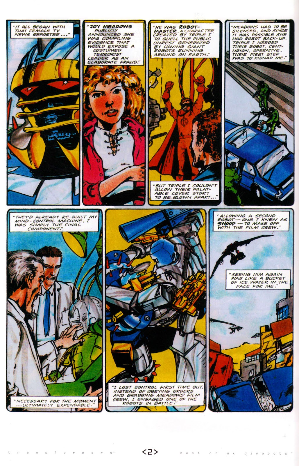 Read online The Transformers: Best of UK: Dinobots comic -  Issue #6 - 5