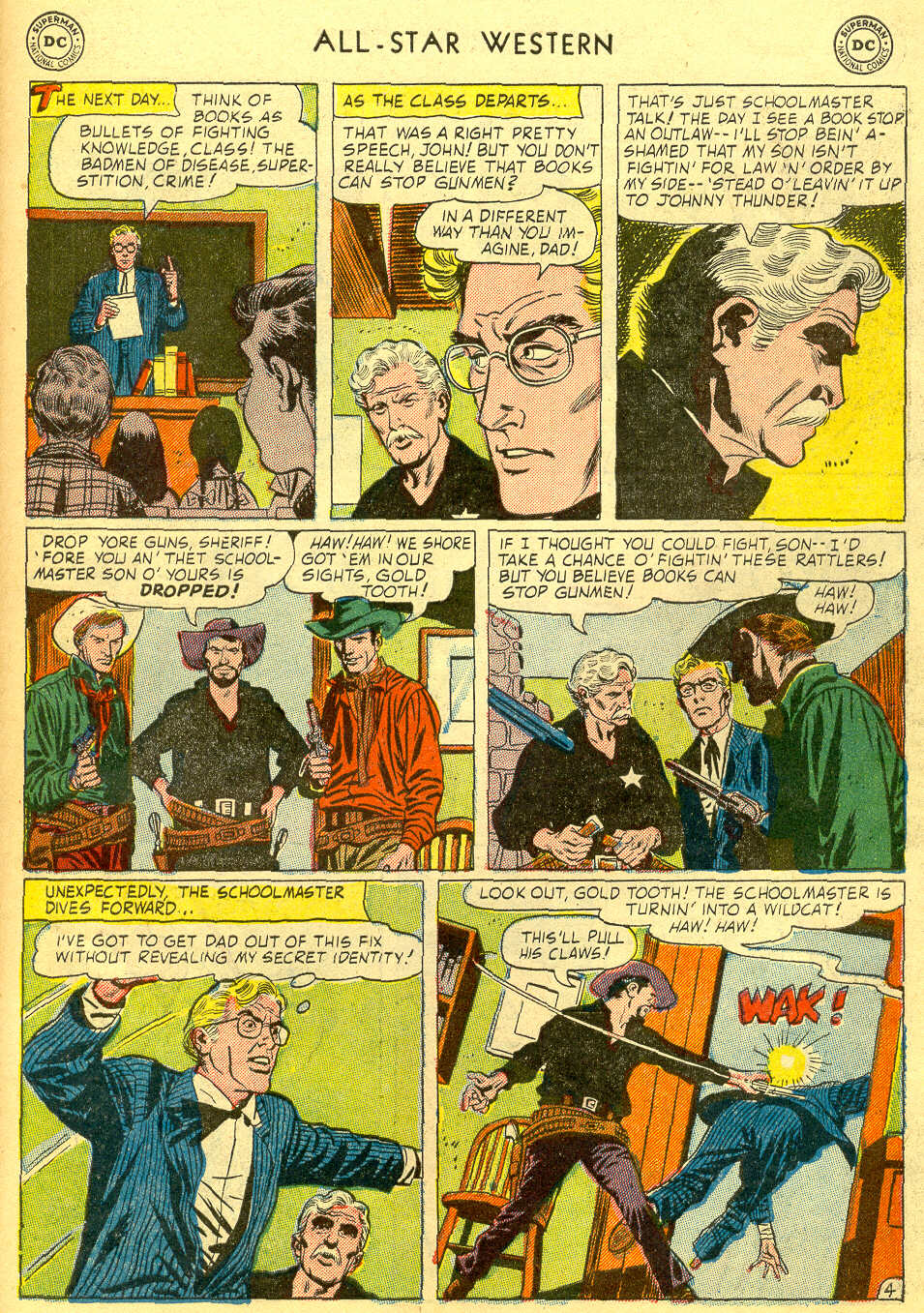 Read online All-Star Western (1951) comic -  Issue #78 - 31