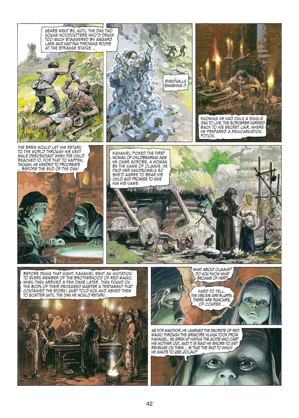 Read online Thorgal comic -  Issue #22 - 44