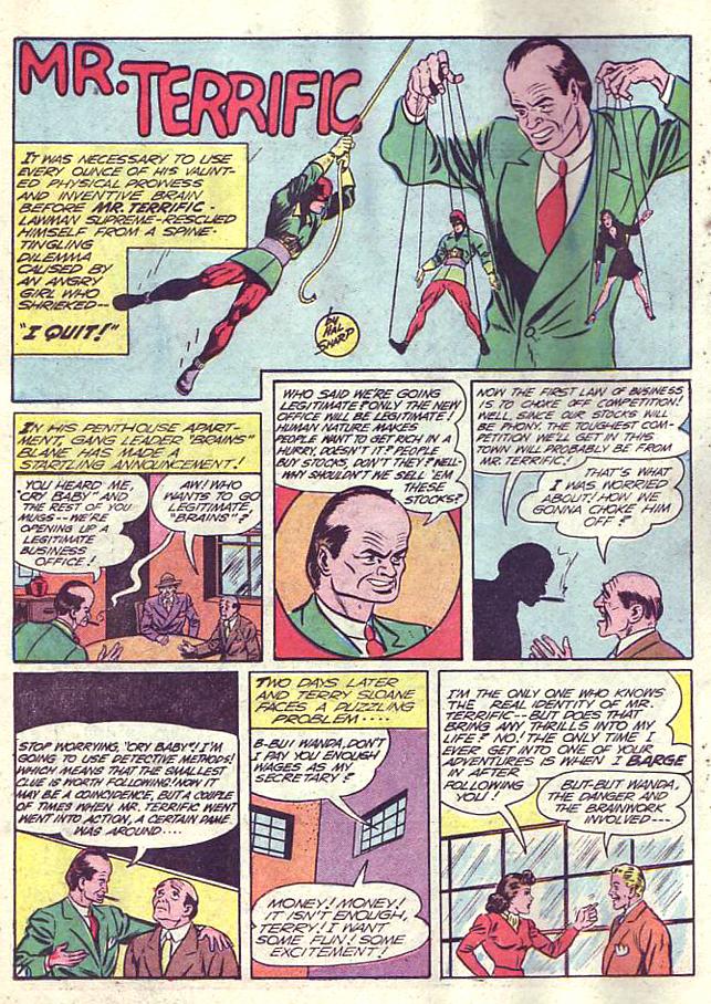 Read online Sensation (Mystery) Comics comic -  Issue #19 - 34