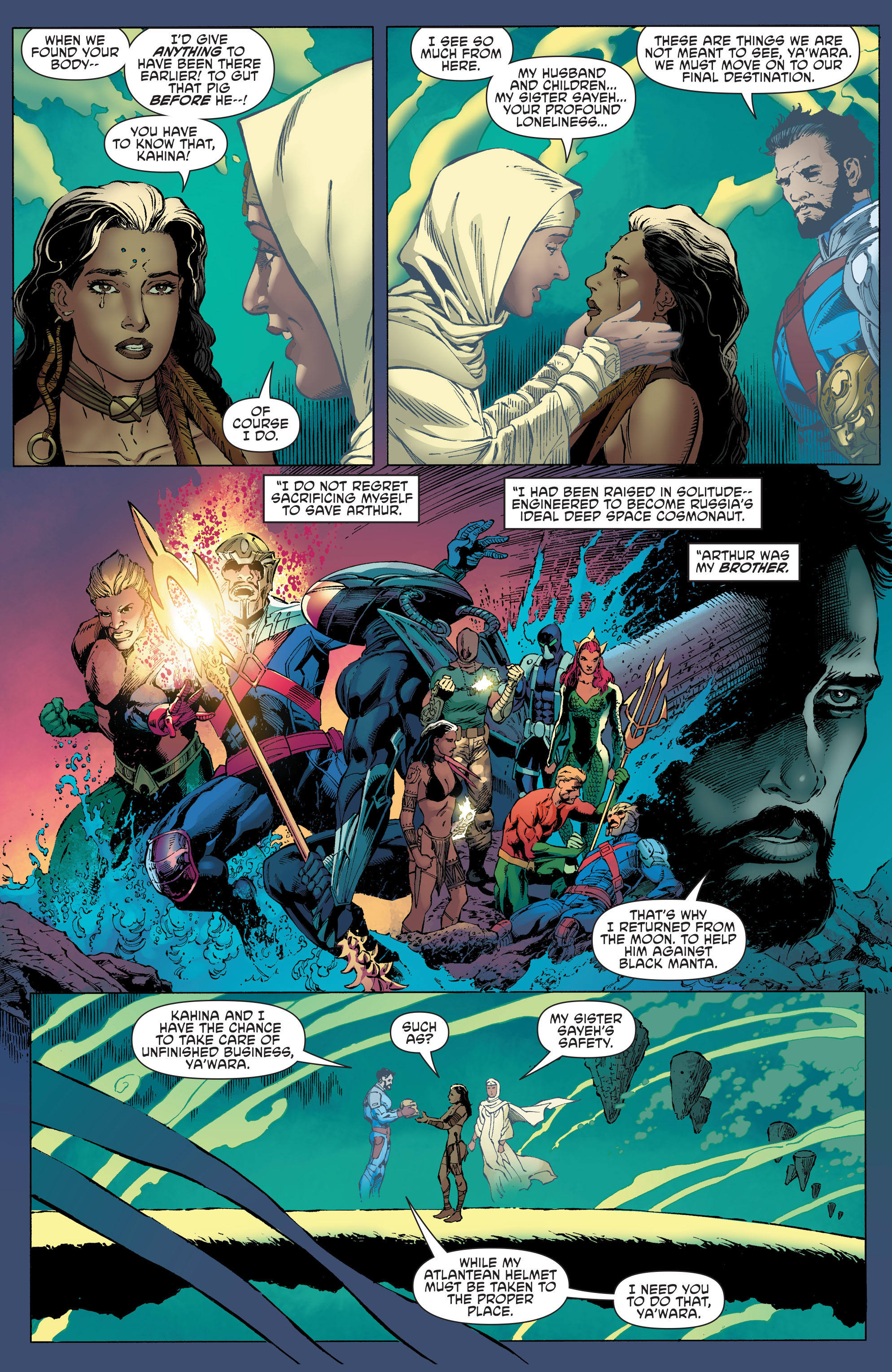 Read online Aquaman and the Others comic -  Issue #4 - 6