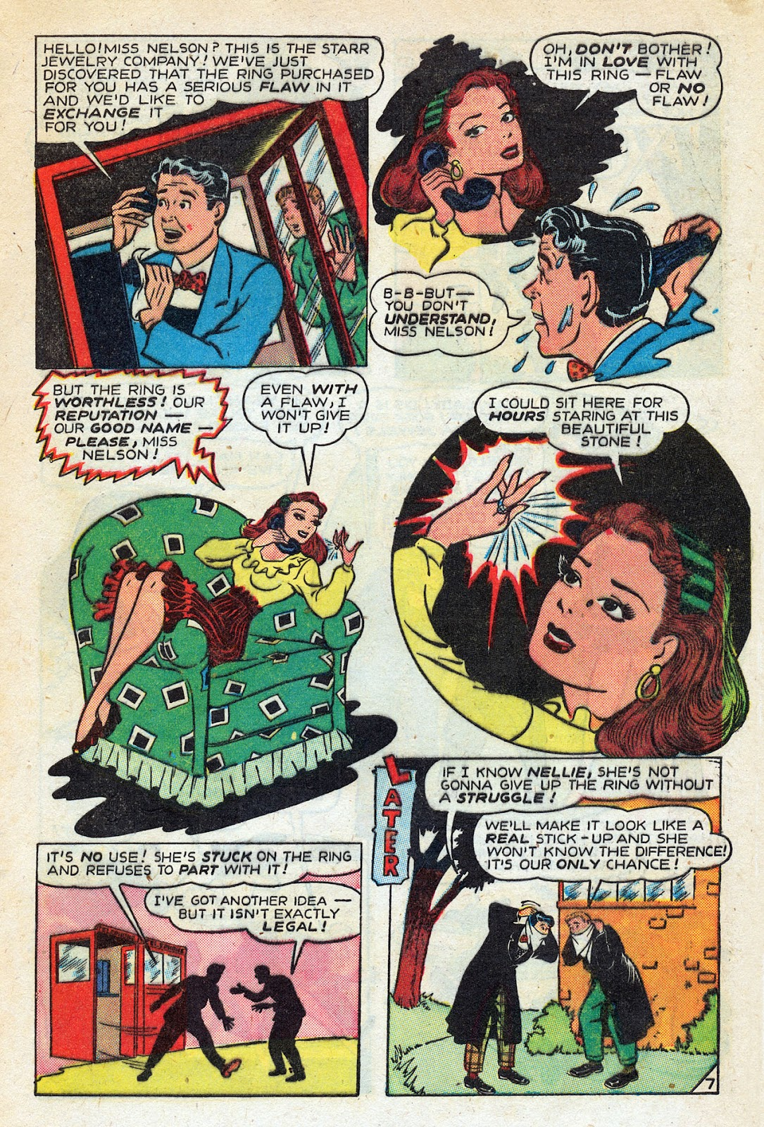 Read online Nellie The Nurse (1945) comic -  Issue #14 - 9