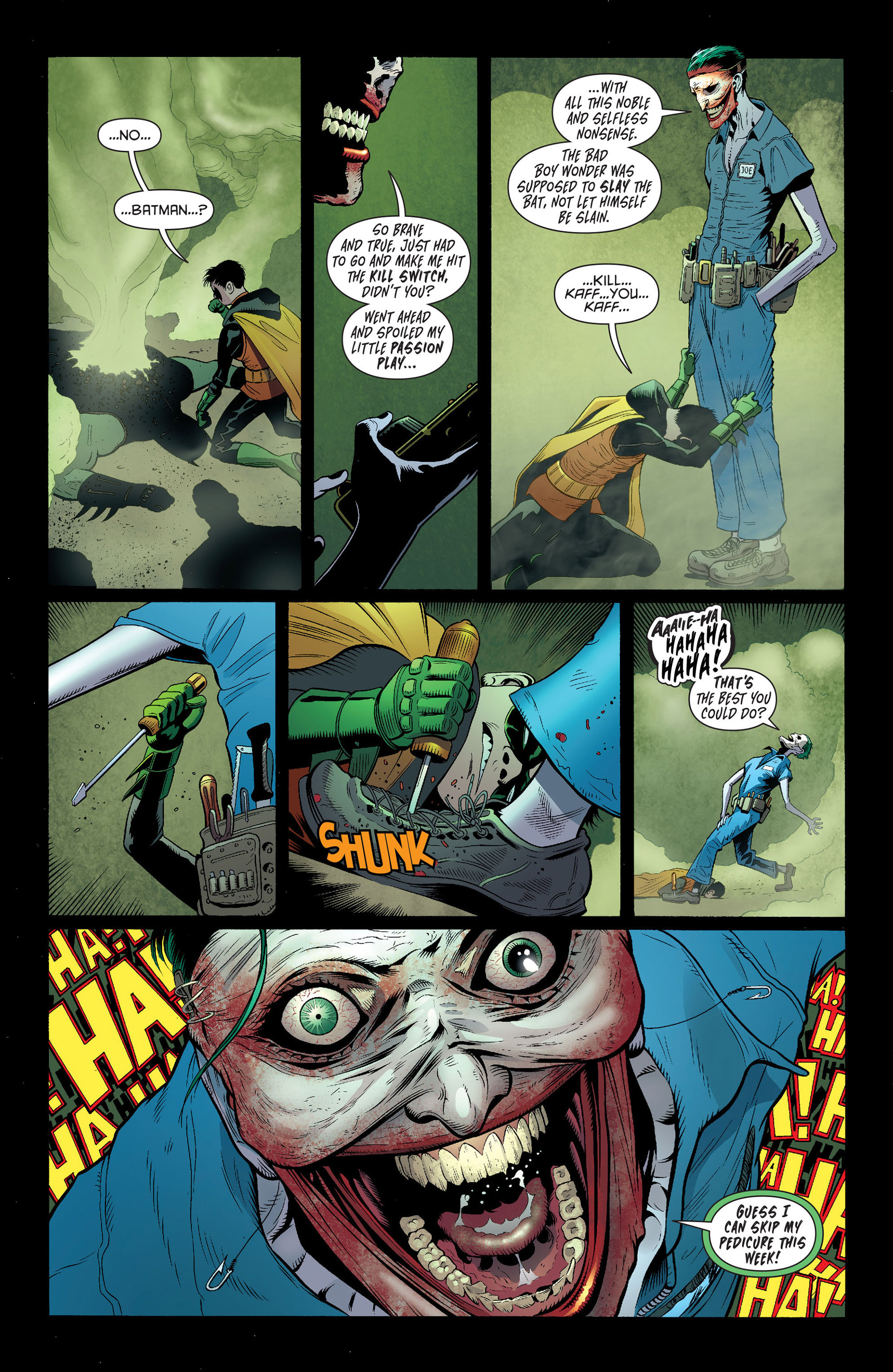 Read online Batman and Robin (2011) comic -  Issue #16 - 17