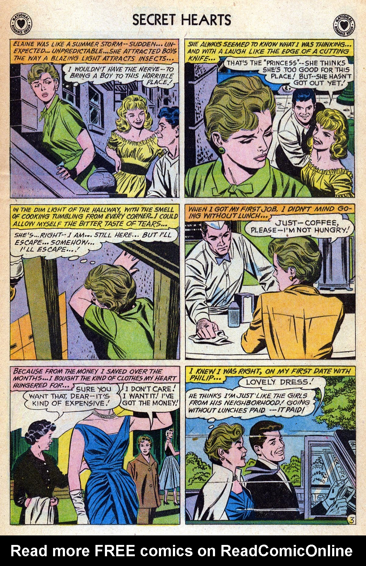 Read online Secret Hearts comic -  Issue #76 - 29
