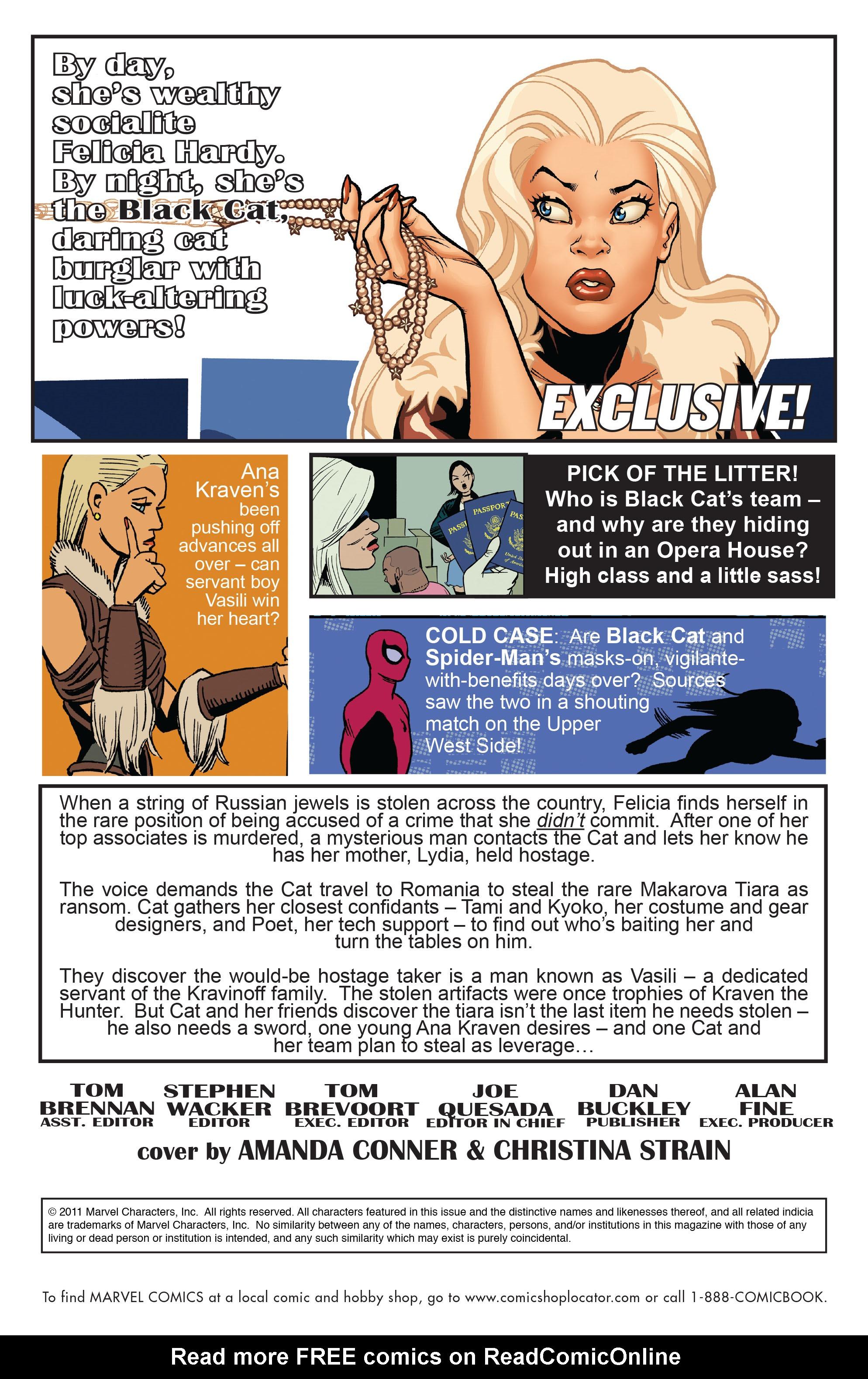 Read online Amazing Spider-Man Presents: Black Cat comic -  Issue #3 - 2