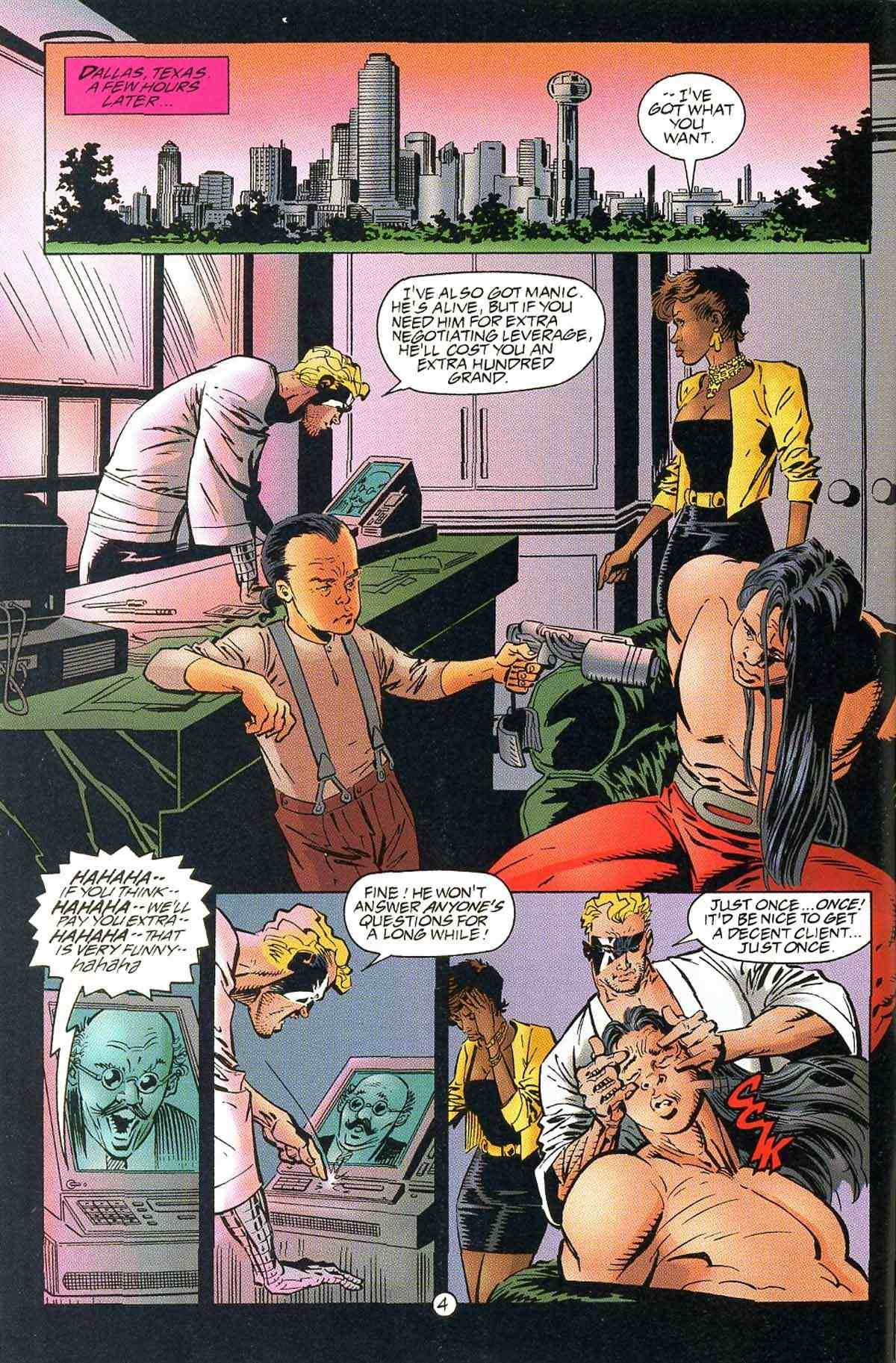 Read online Ultraverse Premiere comic -  Issue #10 - 6