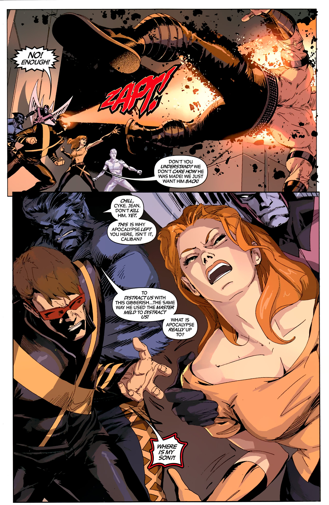 Read online X-Factor Forever comic -  Issue #4 - 7