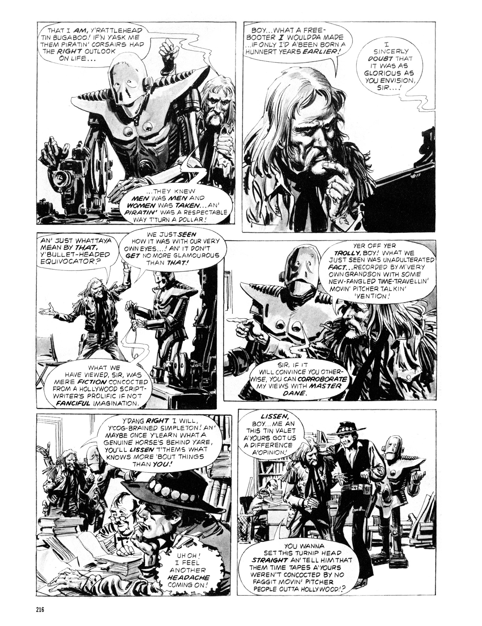 Read online Eerie Archives comic -  Issue # TPB 20 - 216