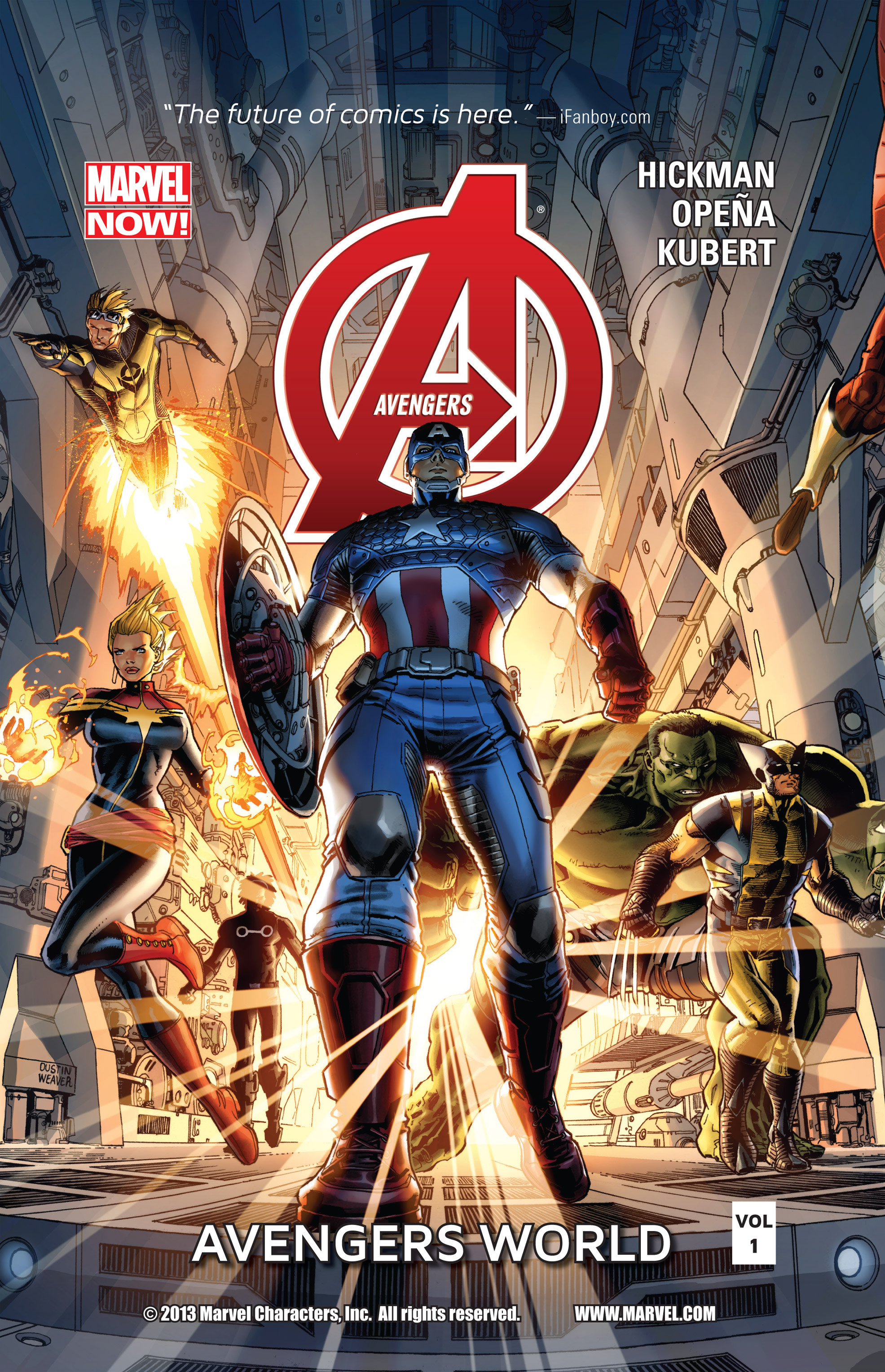 Read online Avengers (2013) comic -  Issue #Avengers (2013) _TPB 1 - 1