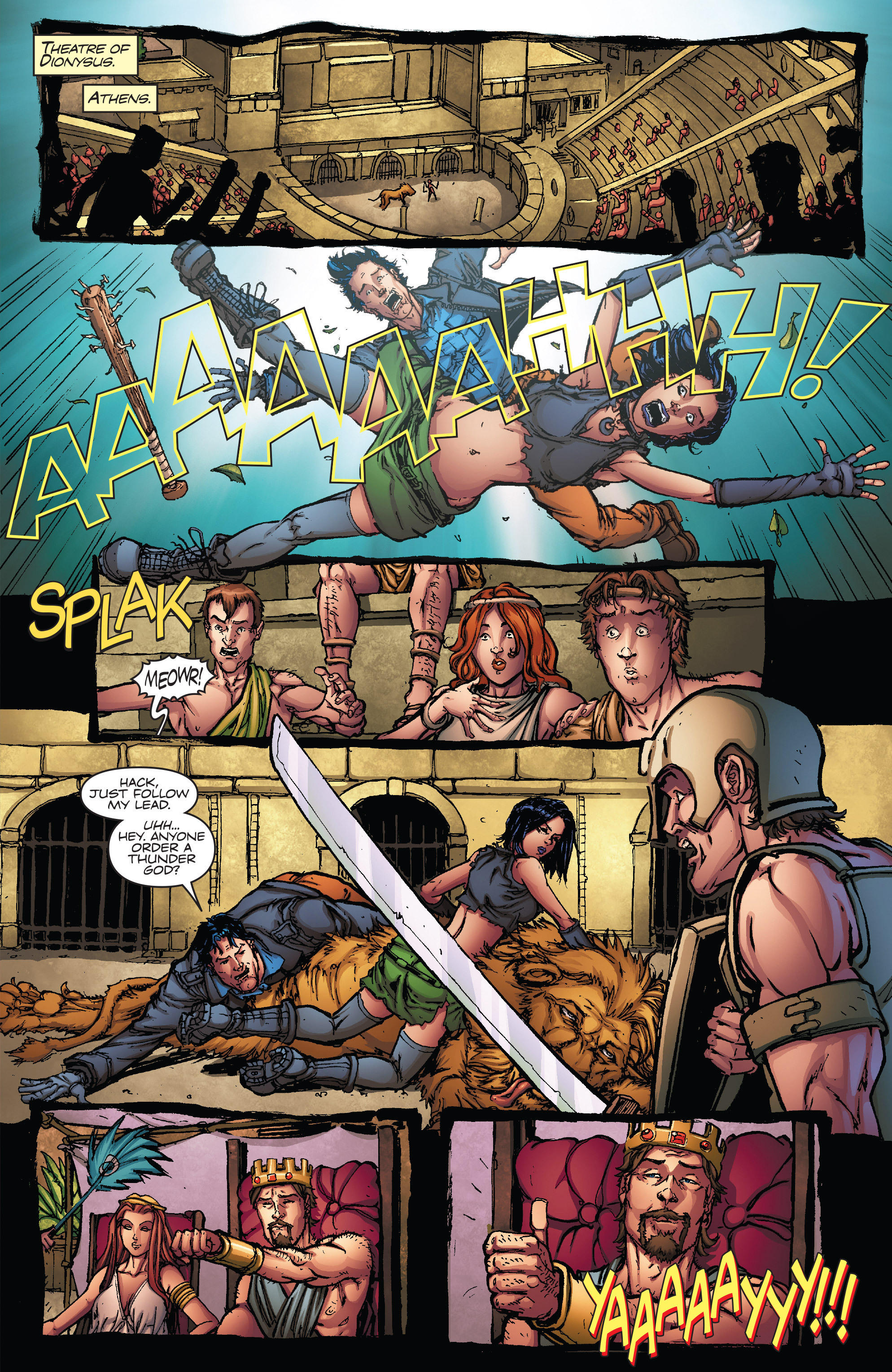 Read online Army of Darkness vs. Hack/Slash comic -  Issue #5 - 13