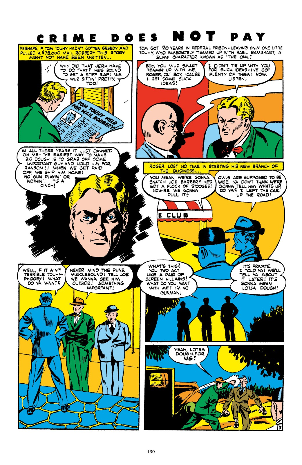 Read online Crime Does Not Pay Archives comic -  Issue # TPB 2 (Part 2) - 30