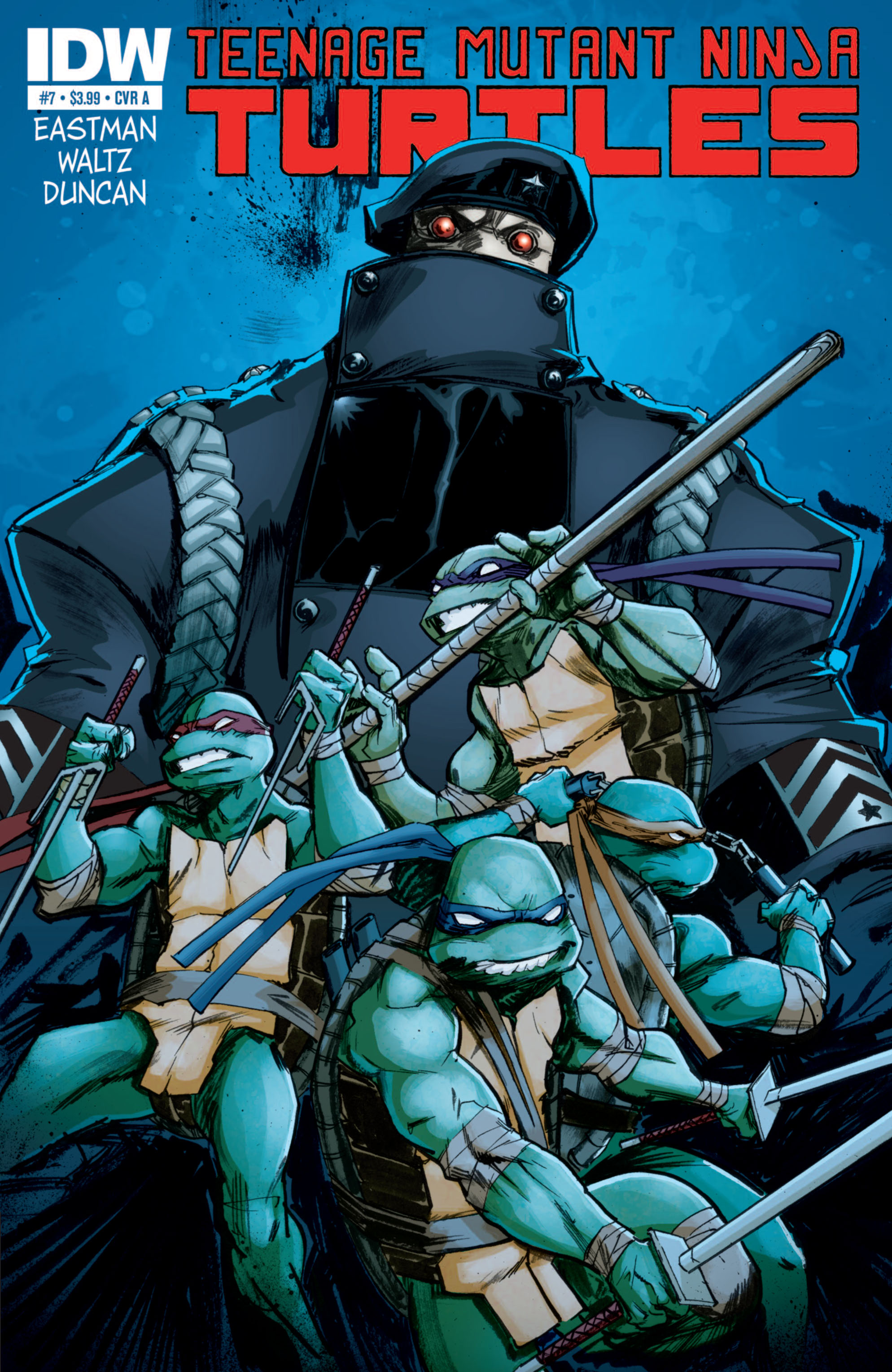 Teenage Mutant Ninja Turtles (2011) issue 7 - Page 1