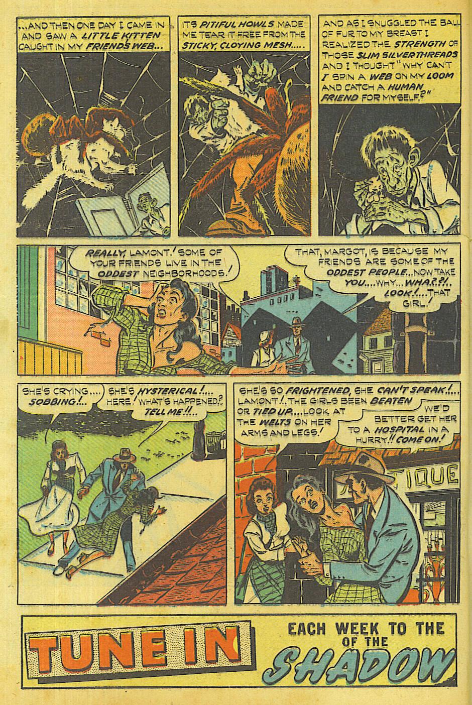 Read online Shadow Comics comic -  Issue #87 - 3