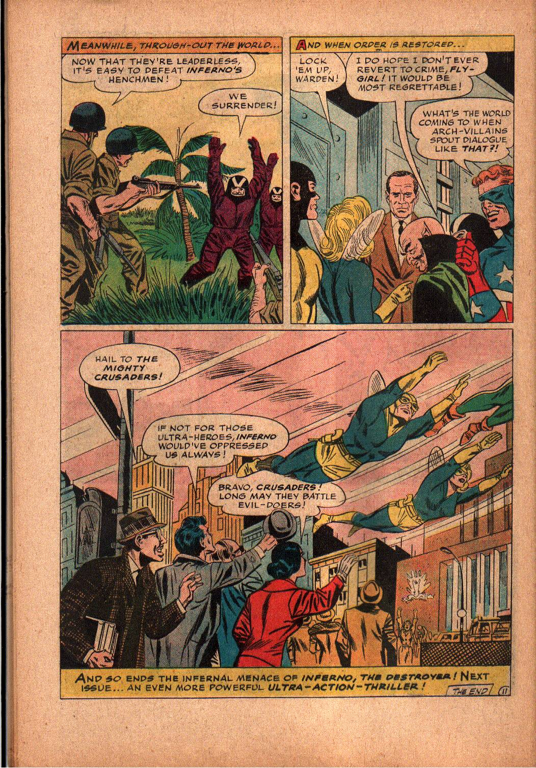 The Mighty Crusaders (1965) Issue #2 #2 - English 20