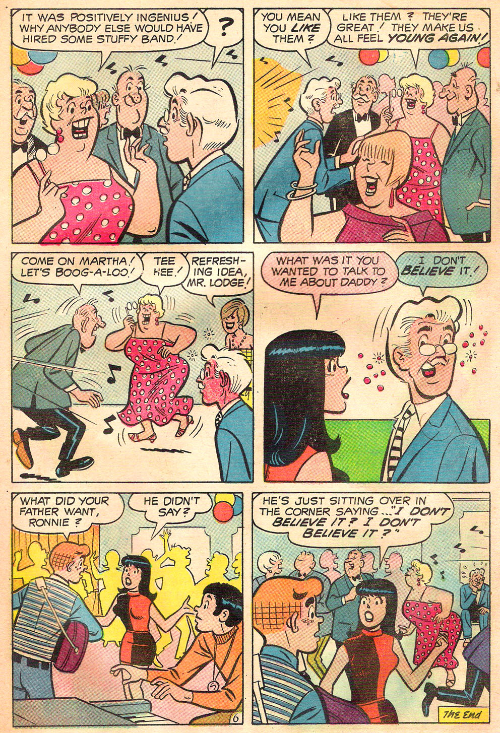 Read online Archie's Girls Betty and Veronica comic -  Issue #157 - 18