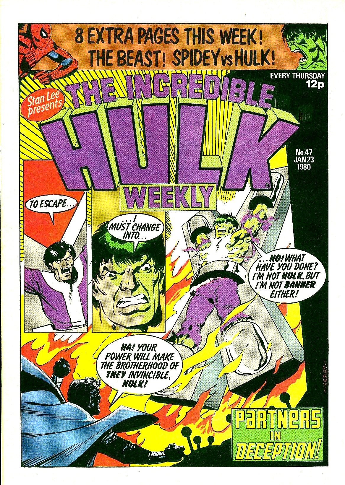 The Incredible Hulk Weekly 47 Page 1