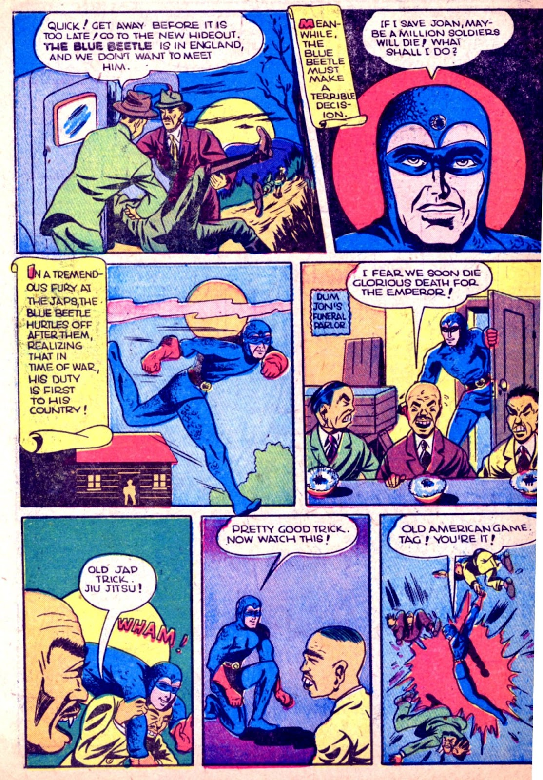 The Blue Beetle issue 31 - Page 44