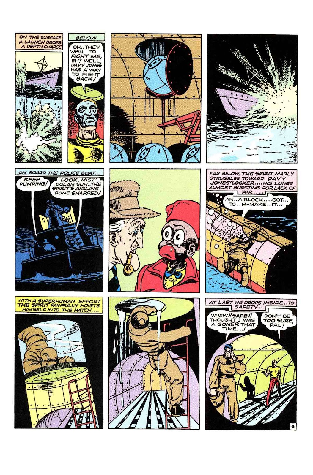 Read online Will Eisner's The Spirit Archives comic -  Issue # TPB 2 (Part 1) - 38