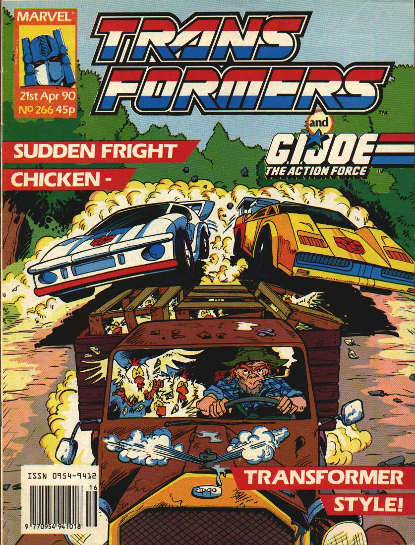The Transformers (UK) 266 Page 1
