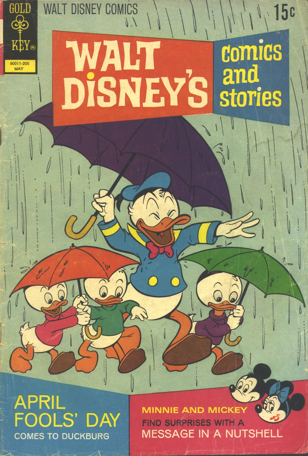 Walt Disney's Comics and Stories issue 380 - Page 1