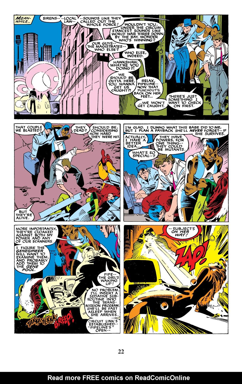 Uncanny X-Men (1963) issue 235 - Page 22