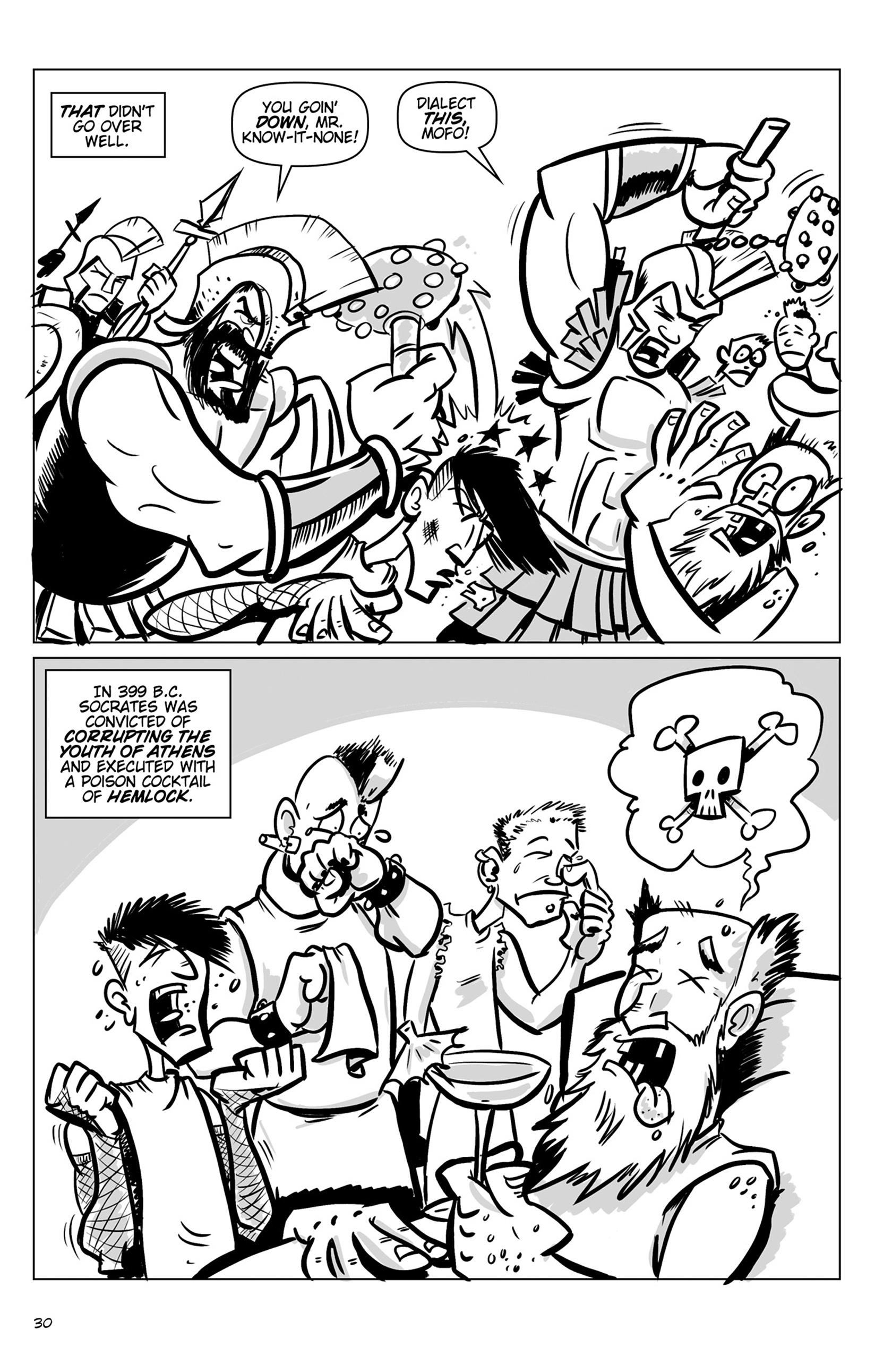 Read online Action Philosophers! comic -  Issue #Action Philosophers! TPB (Part 1) - 30