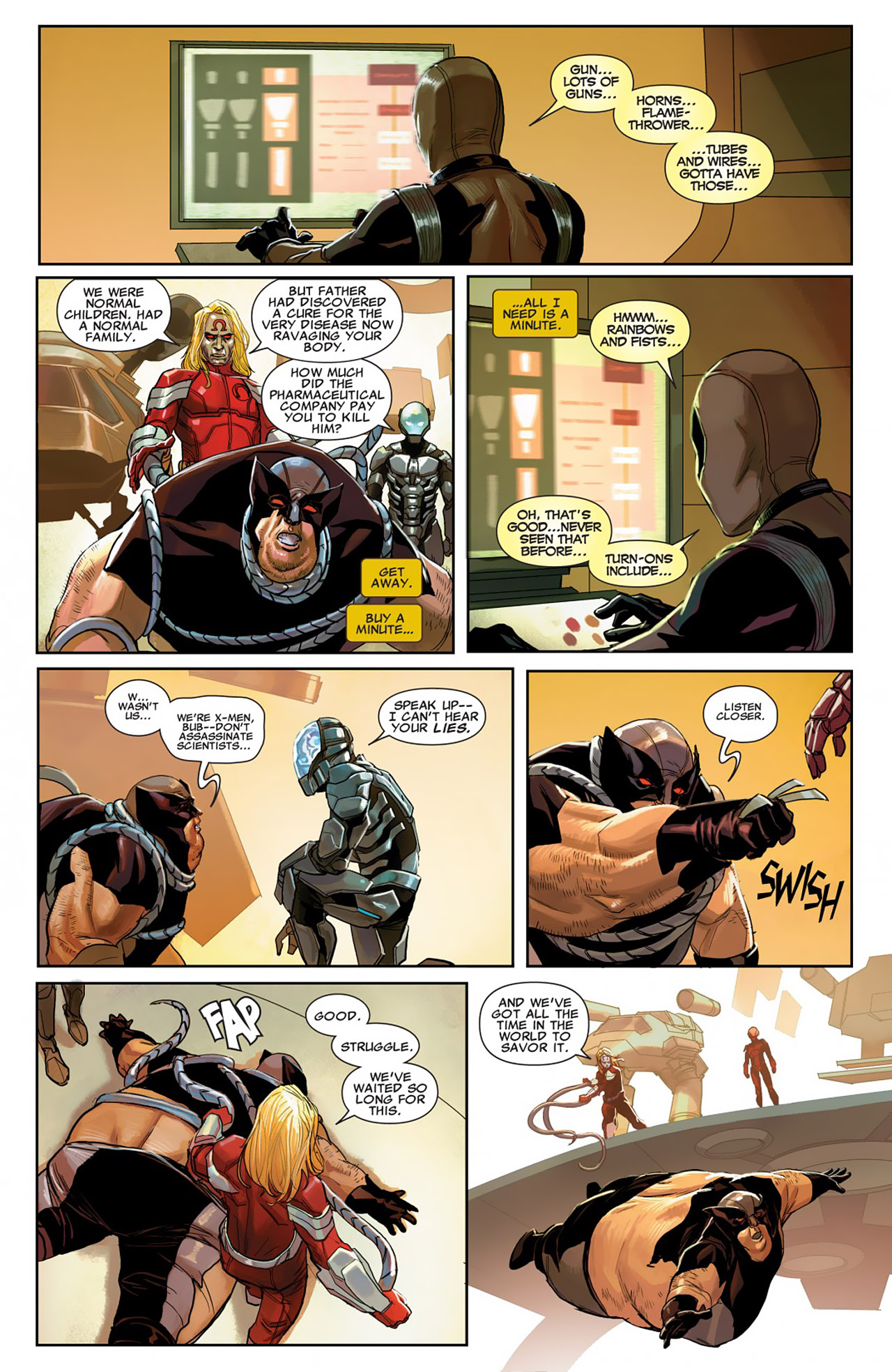 Read online Uncanny X-Force (2010) comic -  Issue #26 - 11