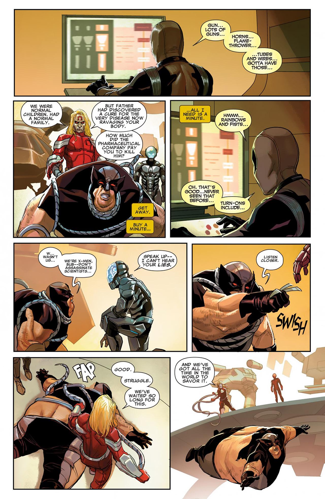 Uncanny X-Force (2010) #26 #28 - English 11