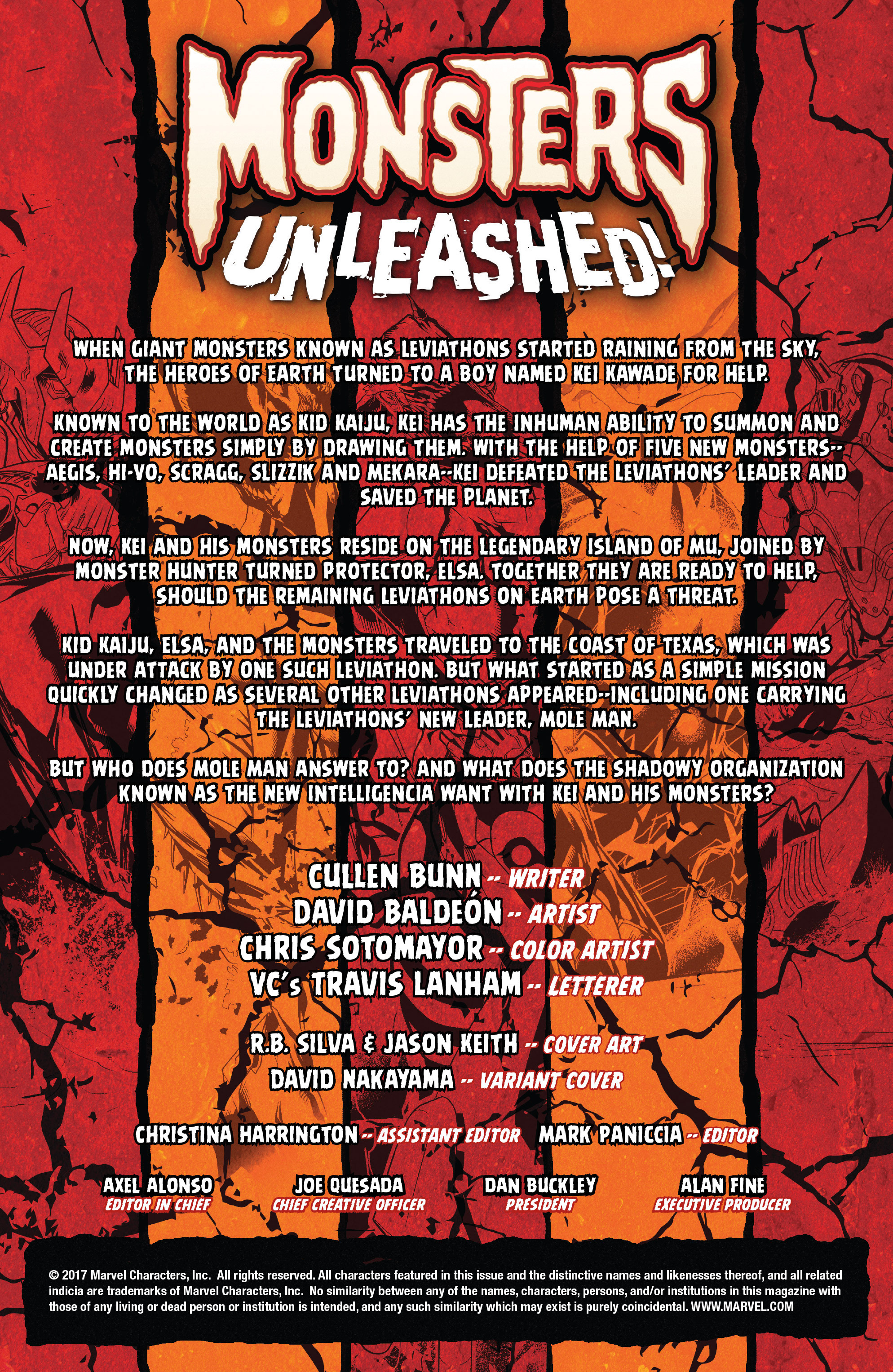 Read online Monsters Unleashed II comic -  Issue #2 - 2