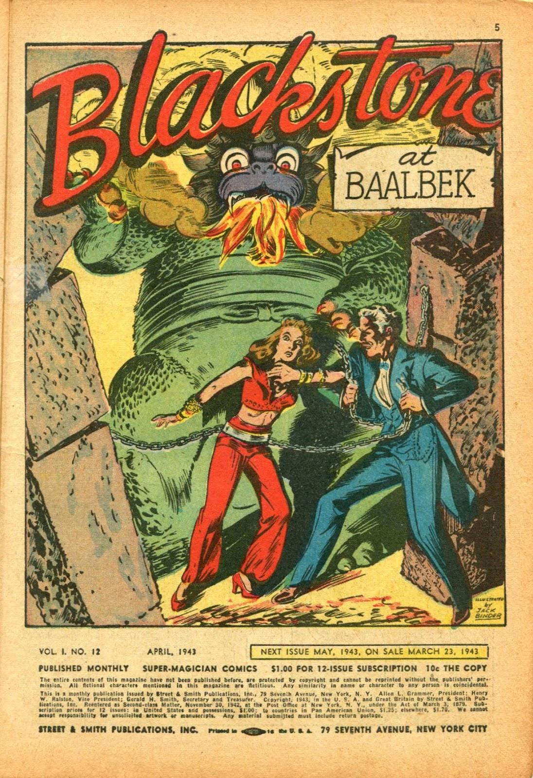 Read online Super-Magician Comics comic -  Issue #12 - 5