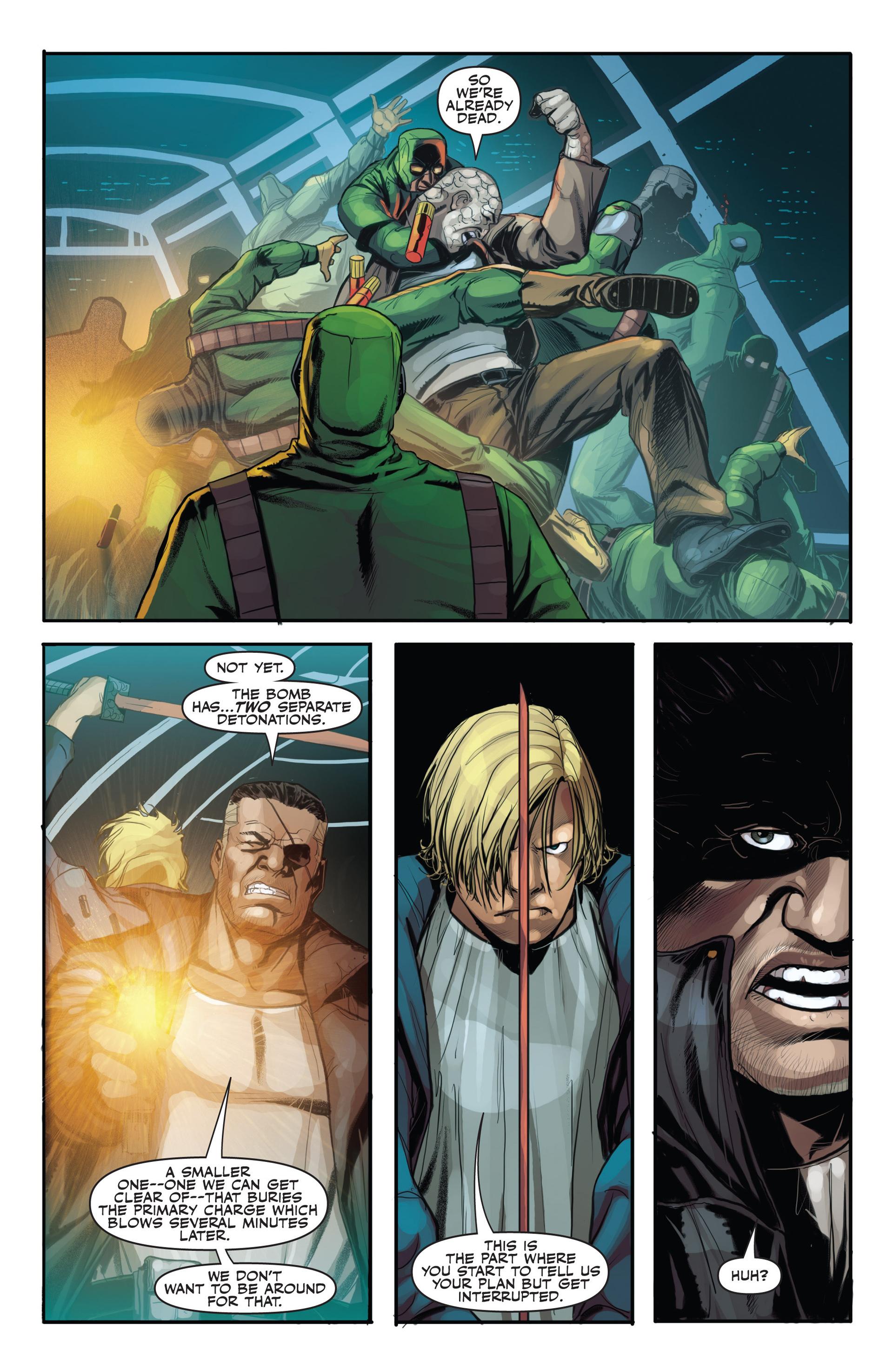 Read online Secret Warriors comic -  Issue #21 - 9