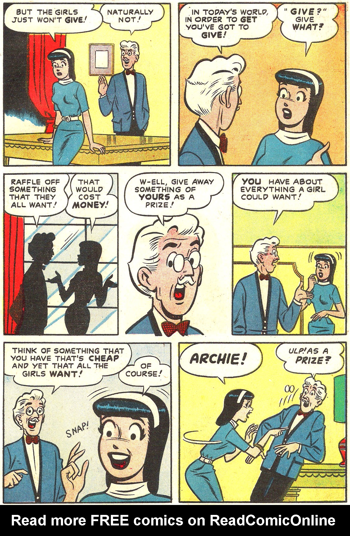 Read online Archie's Girls Betty and Veronica comic -  Issue #54 - 15