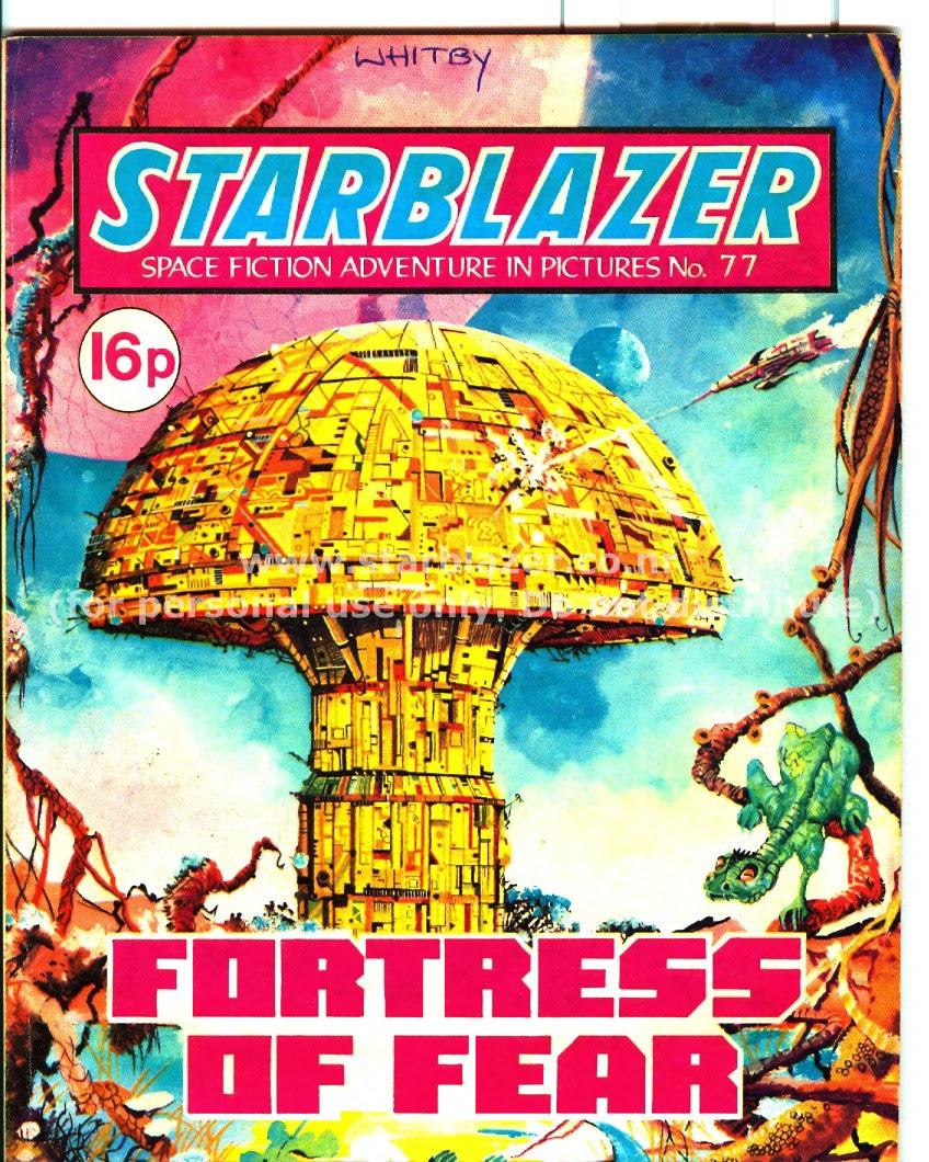 Starblazer issue 77 - Page 1