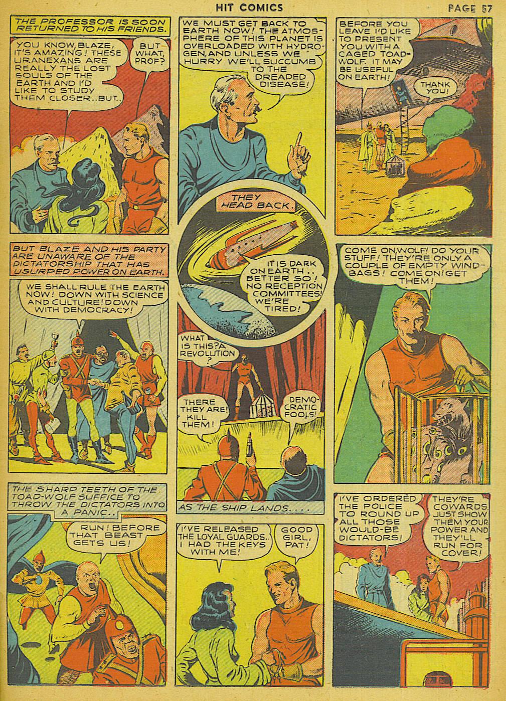 Read online Hit Comics comic -  Issue #13 - 59