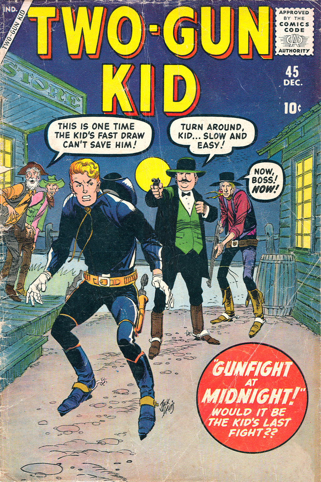 Read online Two-Gun Kid comic -  Issue #45 - 1