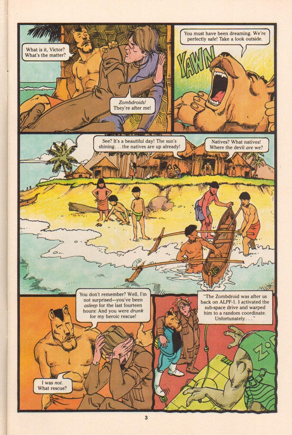 Read online Dalgoda comic -  Issue #4 - 5