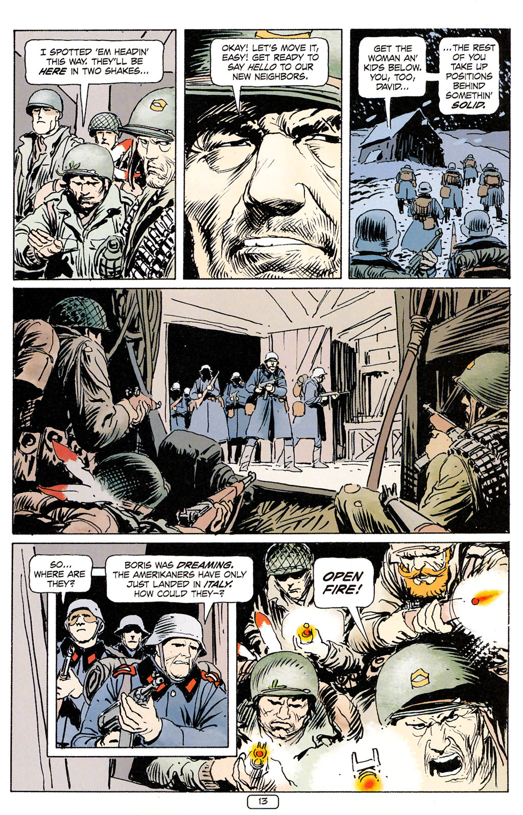 Read online Sgt. Rock: The Prophecy comic -  Issue #5 - 13