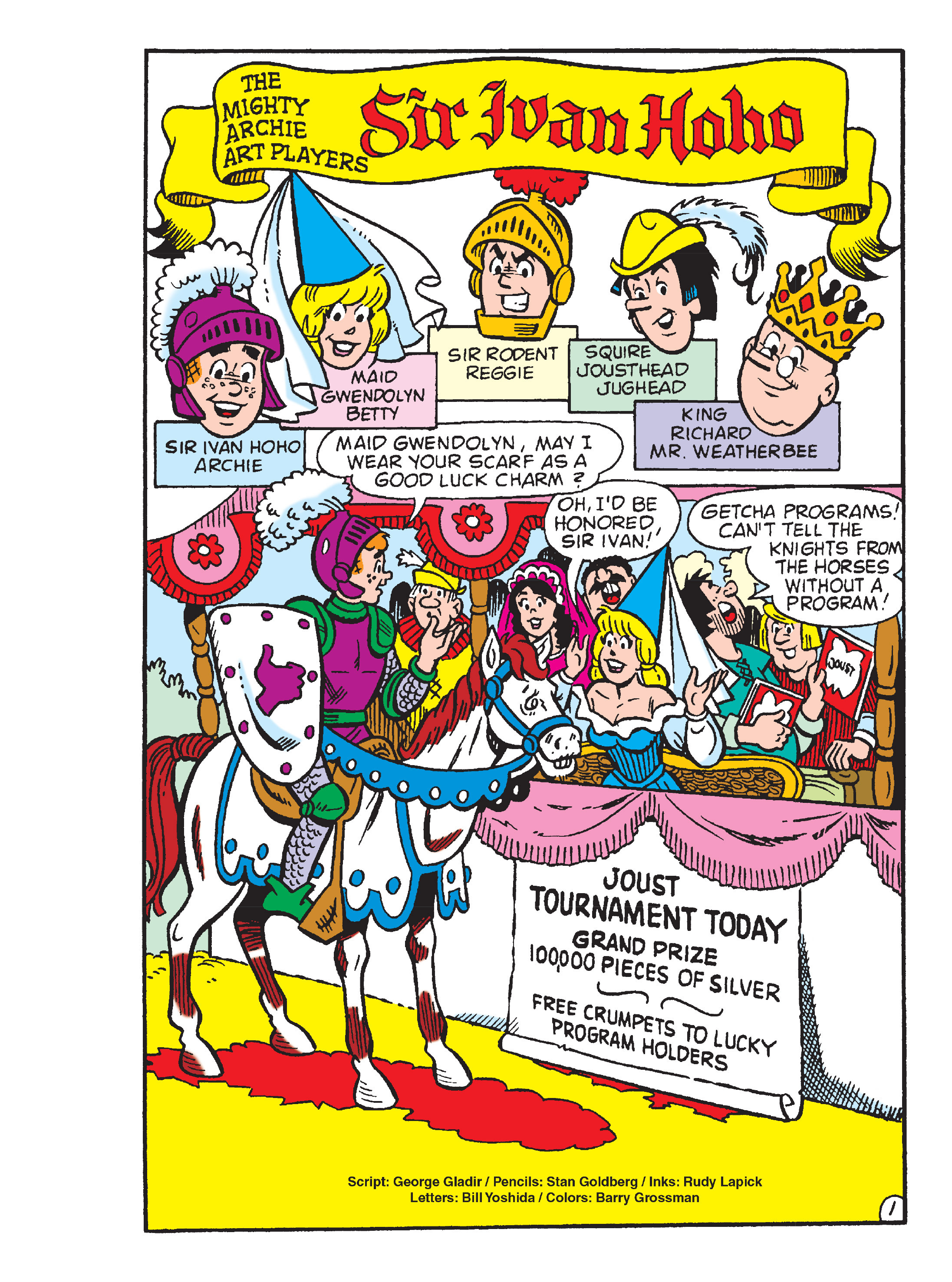 Read online Archie's Funhouse Double Digest comic -  Issue #13 - 140