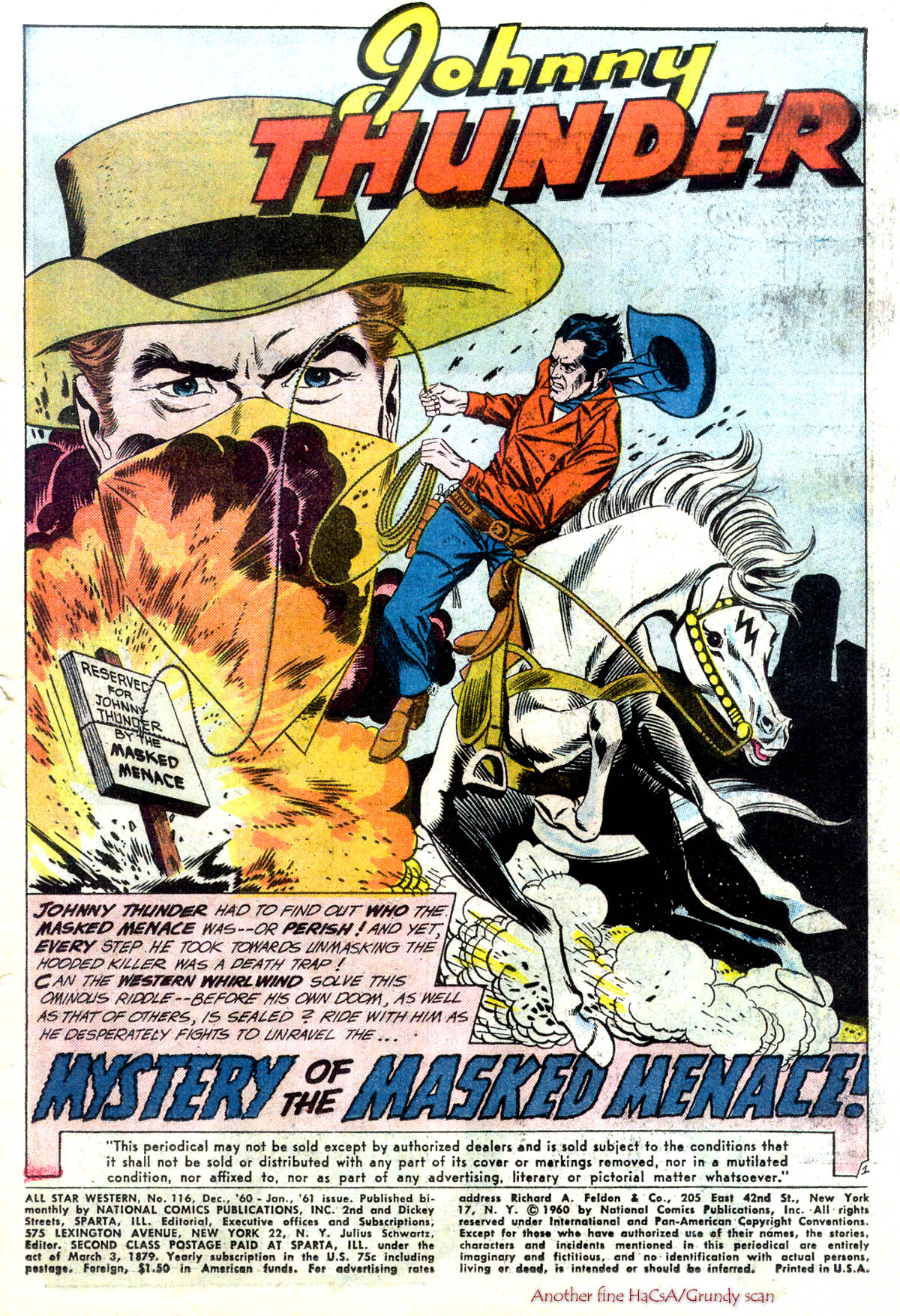 Read online All-Star Western (1951) comic -  Issue #116 - 3
