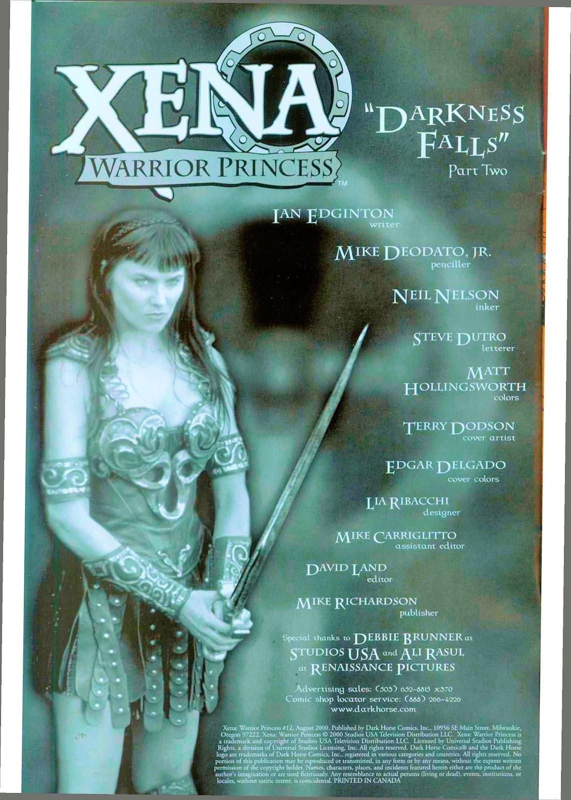 Xena: Warrior Princess (1999) Issue #12 #12 - English 4