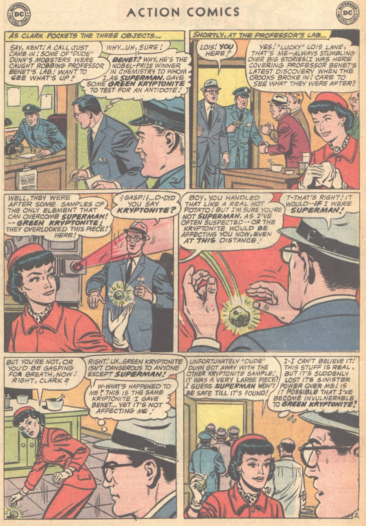 Read online Action Comics (1938) comic -  Issue #291 - 4