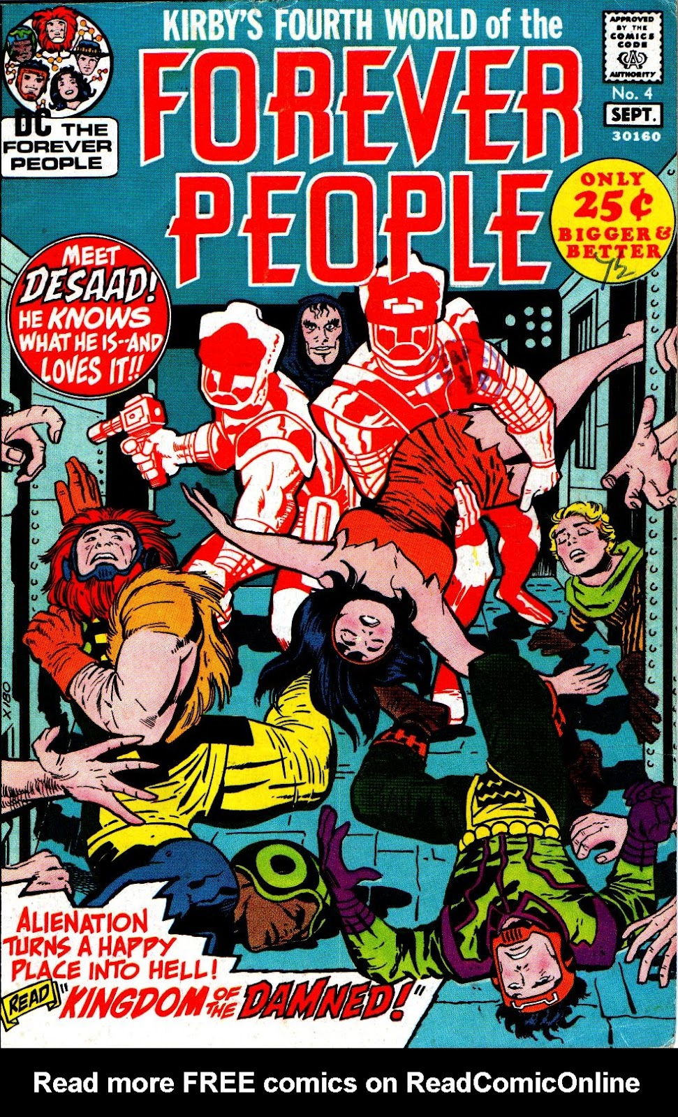 Forever People (1971) issue 4 - Page 1