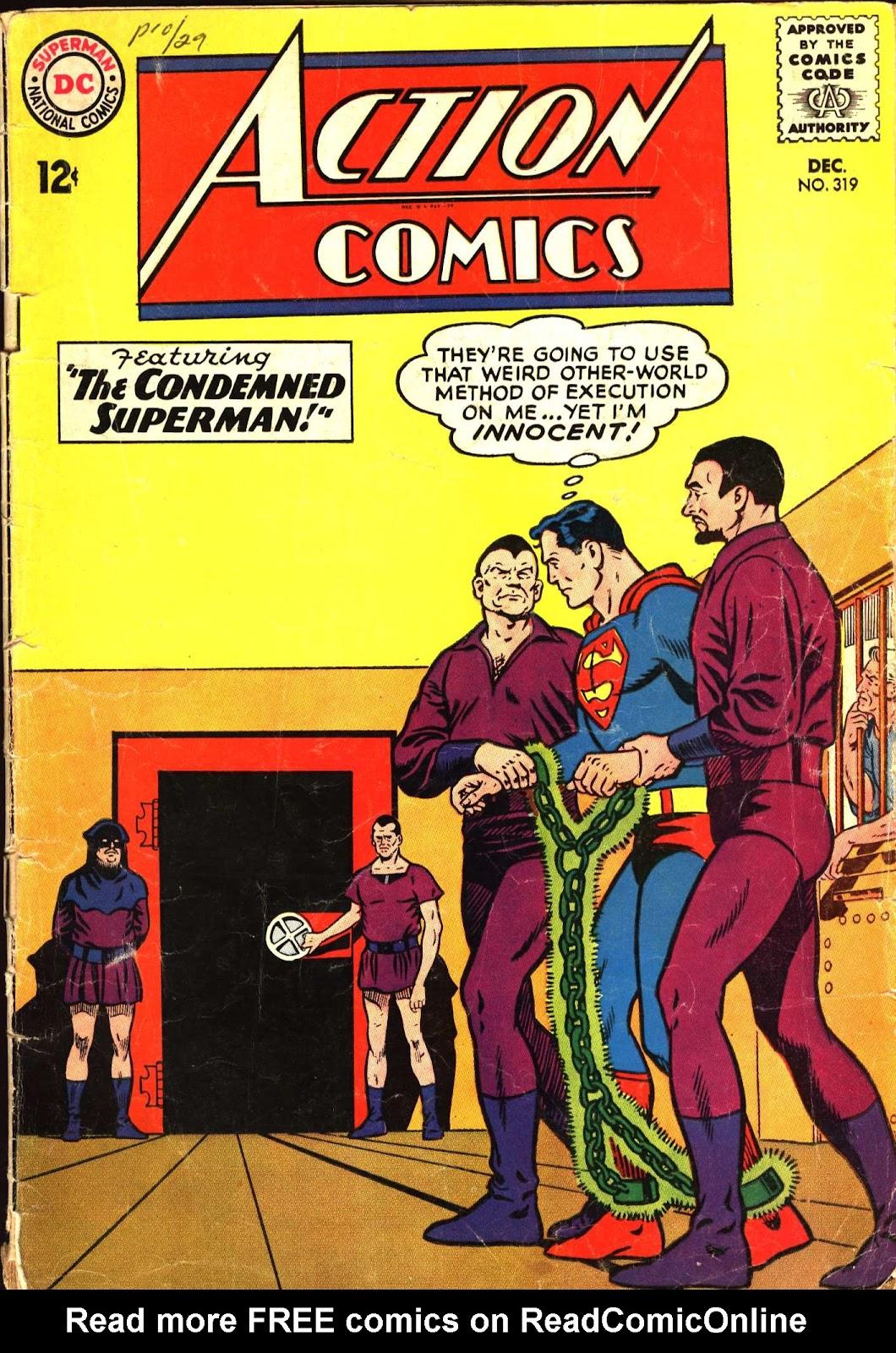 Action Comics (1938) 319 Page 1