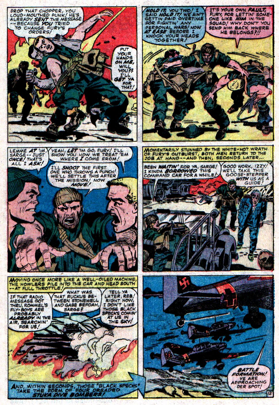 Read online Sgt. Fury comic -  Issue #6 - 17