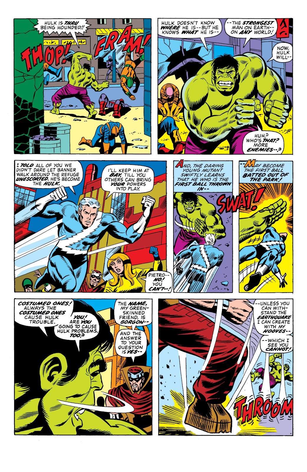 Read online Marvel Masterworks: The Incredible Hulk comic -  Issue # TPB 10 (Part 1) - 99