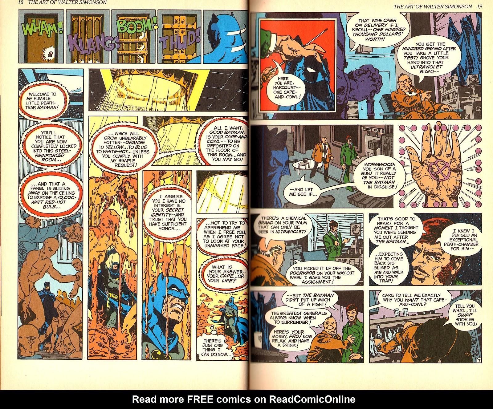 Read online The Art of Walter Simonson comic -  Issue # TPB - 11